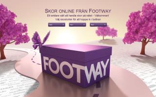 Footway rabattkod och fri frakt